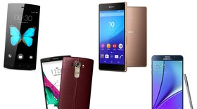 So sánh Galaxy Note 5, Xperia Z3+, LG G4, Bphone