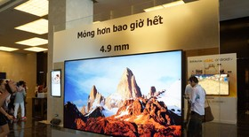Sony Việt Nam ra mắt TV 4K Android mỏng hơn iPhone 6