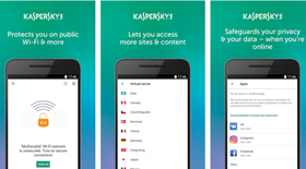 Kaspersky Lab giới thiệu ứng dụng Secure Connection cho Android