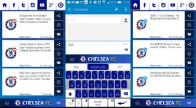 Tùy biến smartphone Android cho fan Chelsea