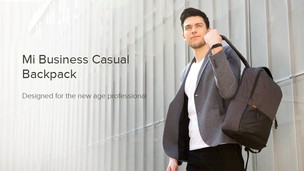 Xiaomi ra mắt balo Mi Business Casual Backpack mới