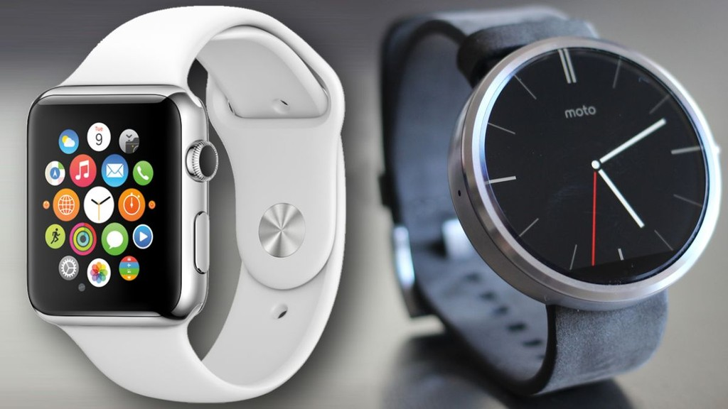 Apple Watch so găng với Moto 360 ảnh 1