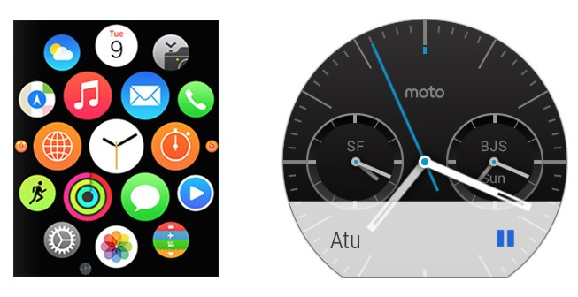 Apple Watch so găng với Moto 360 ảnh 2