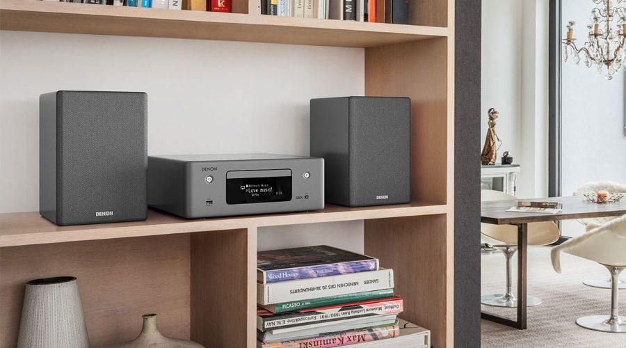 H thng mini hifi Denon CEOL N10, streaming kt hp tr l o Amazon Alexa nh 1