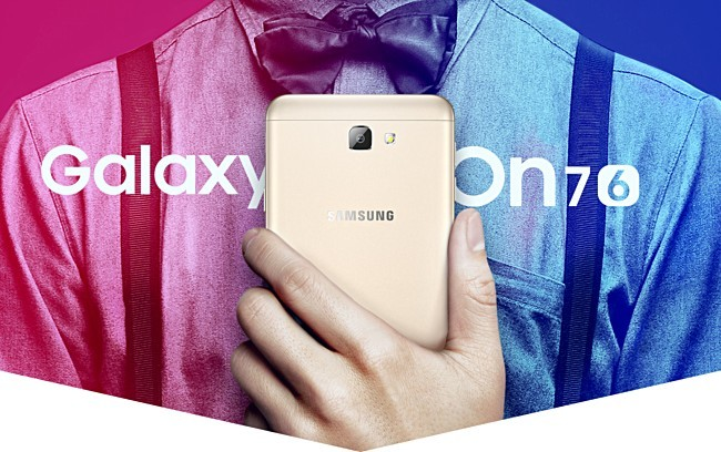Galaxy On7 2016 ra mắt
