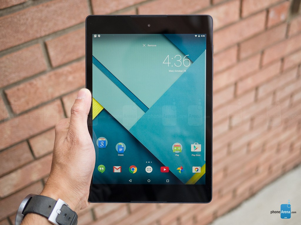 Nokia N1 vs Google Nexus 9 ảnh 2