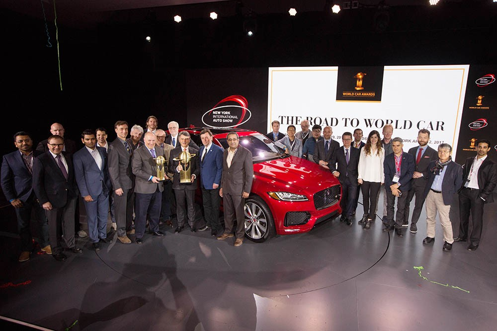 "Jaguar F-PACE thắng giải ""2017 World Car of the Year"" ảnh 2"