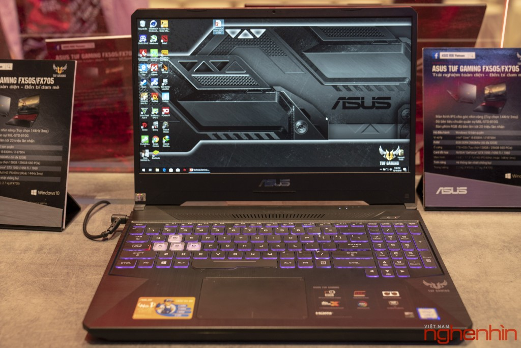 Republic Of Gaming (ROG) ra mắt laptop gaming mới TUF FX505/FX705 ảnh 1
