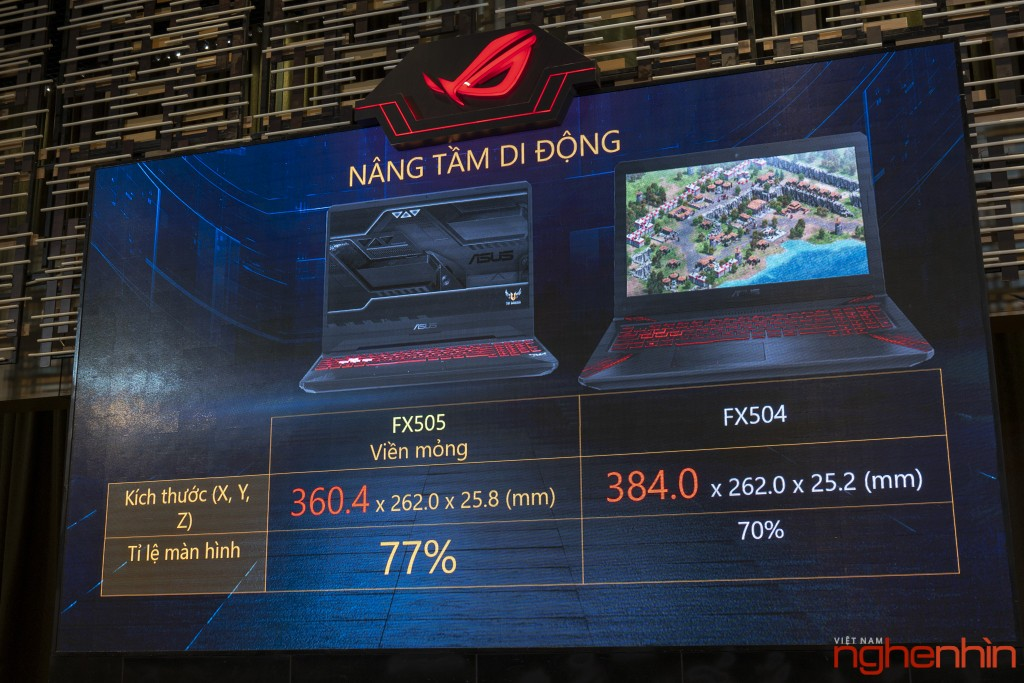 Republic Of Gaming (ROG) ra mắt laptop gaming mới TUF FX505/FX705 ảnh 3