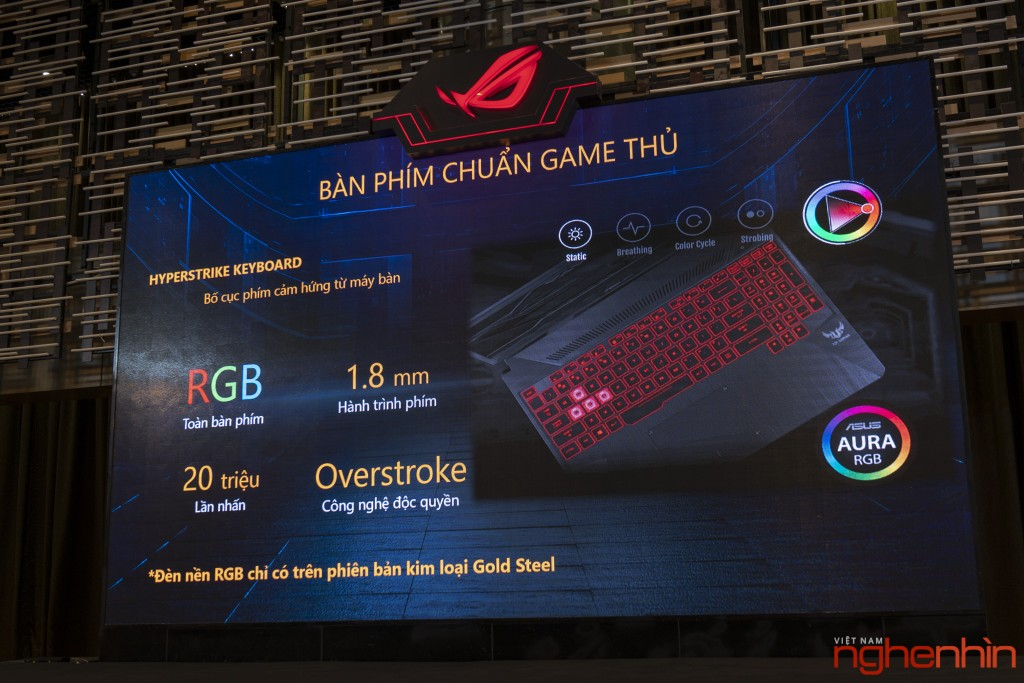Republic Of Gaming (ROG) ra mắt laptop gaming mới TUF FX505/FX705 ảnh 5