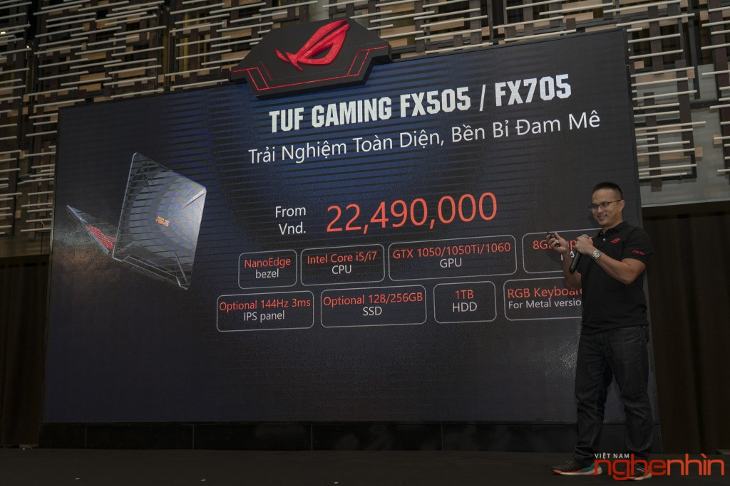 Republic Of Gaming (ROG) ra mắt laptop gaming mới TUF FX505/FX705 ảnh 6