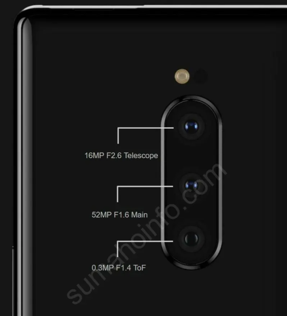 Xperia XZ4: camera 52MP, Snapdragon 855, pin 4.400mAh ?  ảnh 2