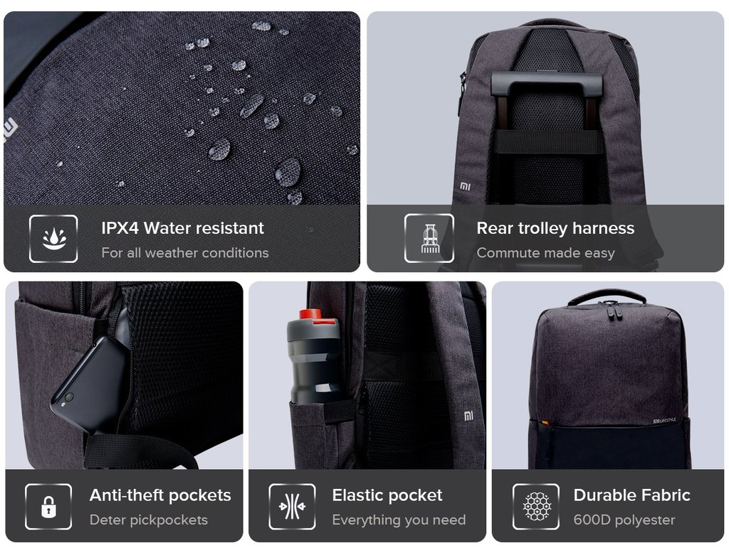 Xiaomi ra mắt balo Mi Business Casual Backpack mới ảnh 2