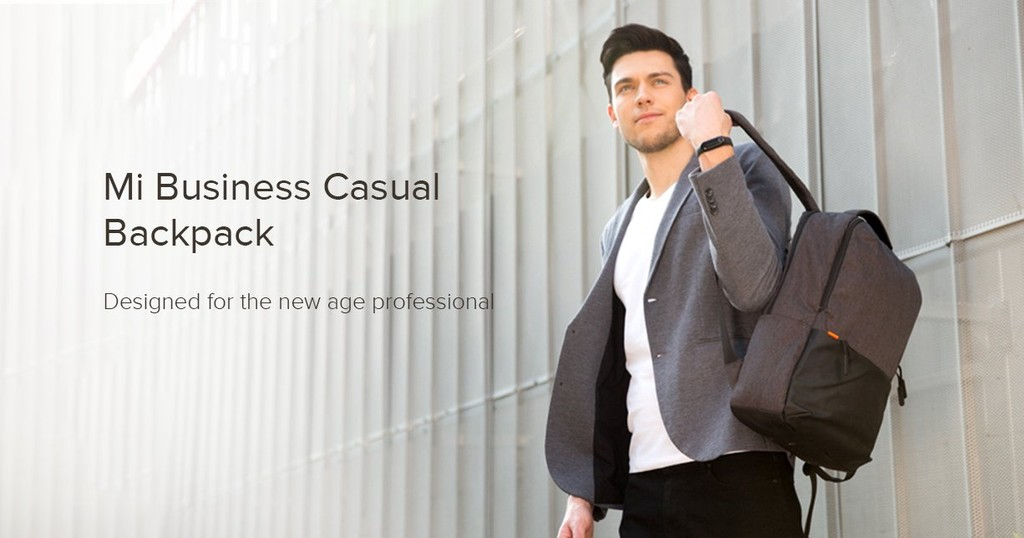 Xiaomi ra mắt balo Mi Business Casual Backpack mới ảnh 1