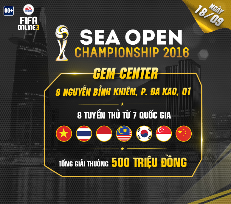 Sea Open Champion 2016