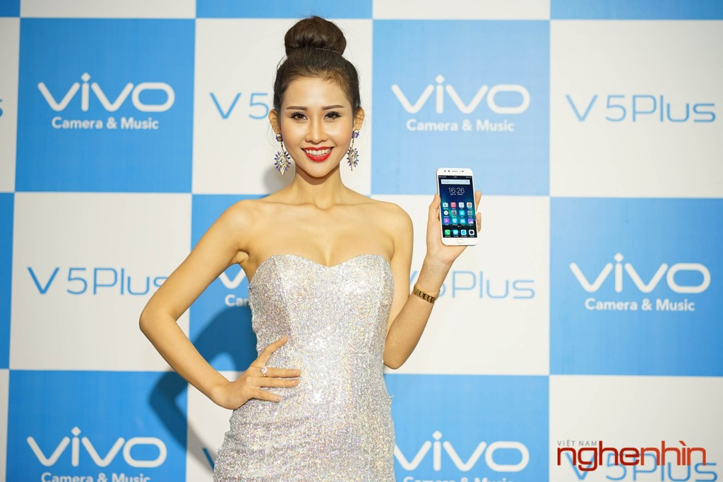 Ra mắt Vivo V5 Plus