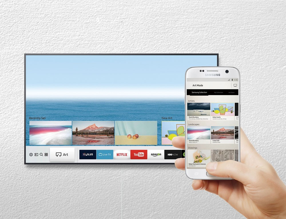 TV Samsung The Frame