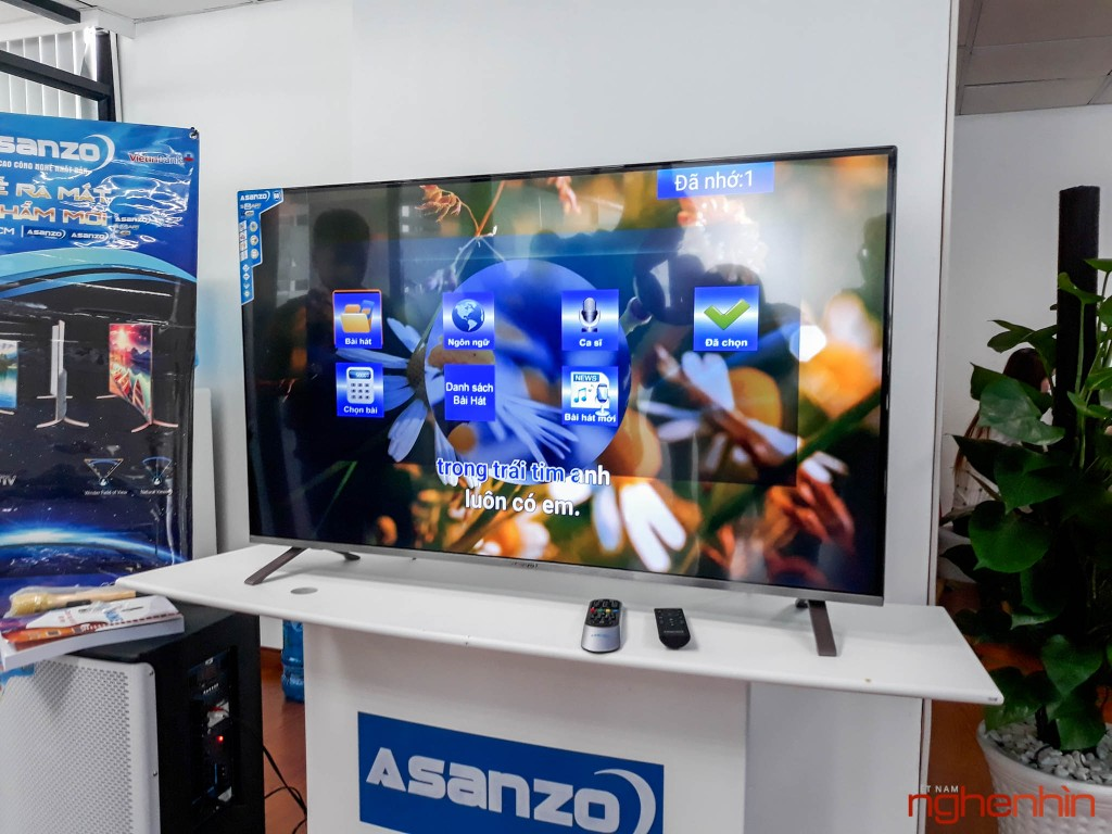 TV 4K Asanzo AS50U8