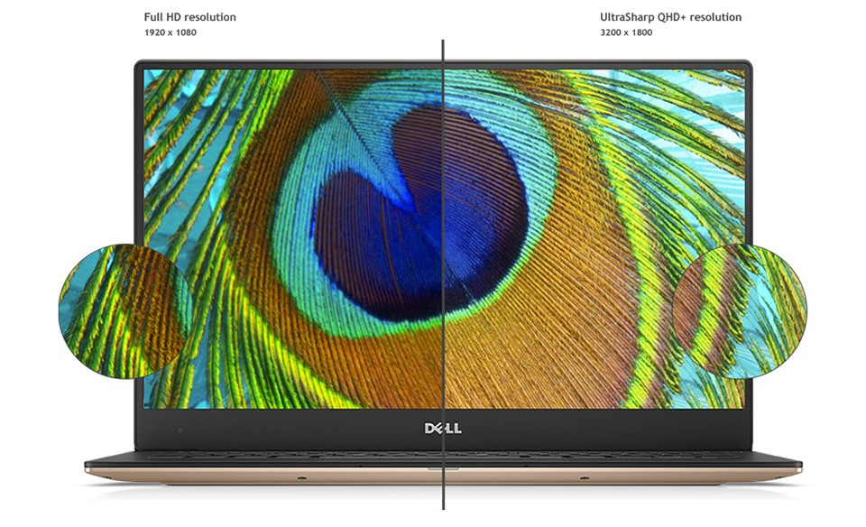 Dell XPS 13 Rose Gold, chip Kaby Lake, giá từ 1.048USD ảnh 2