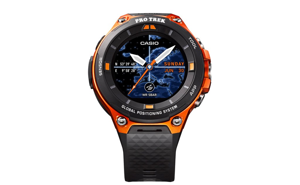 Casio Smartwatch Pro Trek mới chạy Android Wear 2.0 ảnh 2