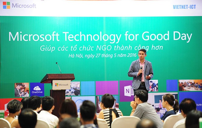 Microsoft tech for good