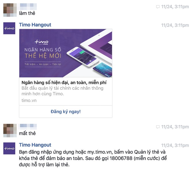 Timo Chat Bot