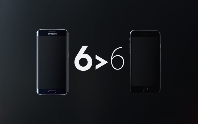Video lăng xê Galaxy S6 edge chê bai iPhone 6 ảnh 1