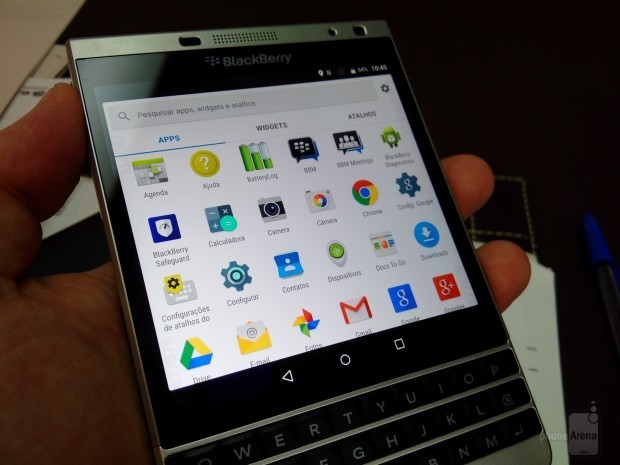 Video BlackBerry Passport Silver Edition chạy Android ảnh 1