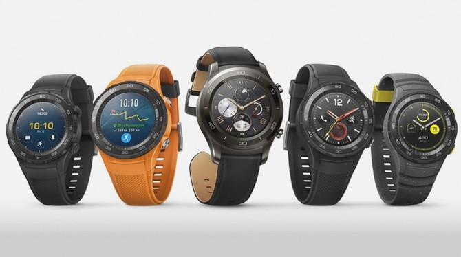 Huawei tung ra Watch 2/2 Classic chạy Android Wear 2 ảnh 1
